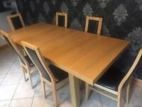 Entendable Dining Table