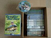 Fishing Dvds. Mostly New, Like New or Very good condition.