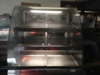 CATERING COMMERCIAL HOT DISPLAY CABINET CUISINE COUNTER TOP MODEL TAKE AWAY RESTAURANT KITCHEN KEBAB