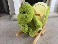 Dinosaur Baby Rocker - brand new