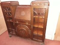 Antique Solid Wood Bureau