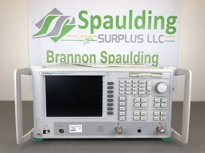 Anritsu Ms4623b 10 Mhz To 6 Ghz Vector Network Analyzer - Calibrated
