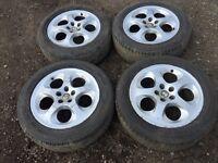 """Alfa Romeo 147 / 156 16"""" alloys and tyres"""