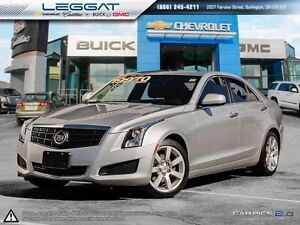 2014 Cadillac ATS ONLY 46K! *SUNROOF*HEATED SEATS*BLUETOOTH*