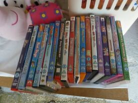 17 Assorted Childrens dvds