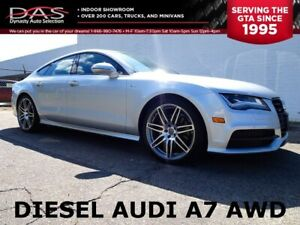 2014 Audi A7 TDI Technik Navigation/Sunroof/Quatro