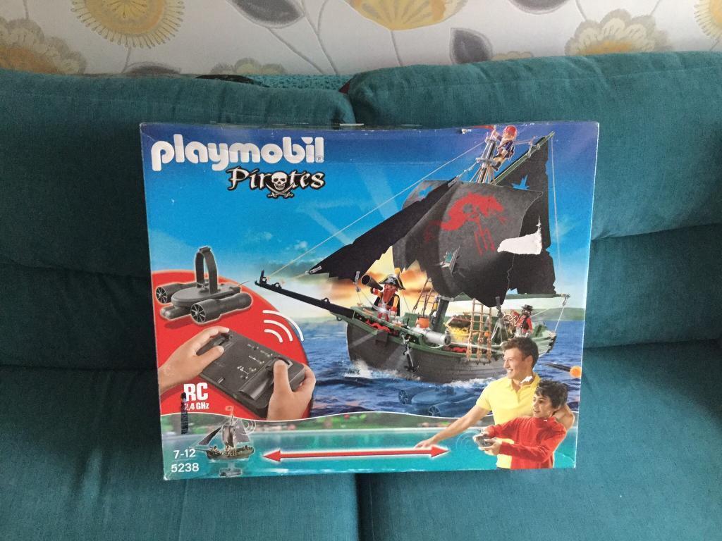 Playmobil pirates Remote control ship 5238