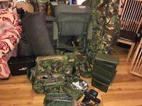 Carp fishing setup
