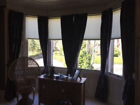 Long curtains