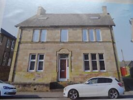 ONE BEDROOM FULLY FURNISHED FLAT IN STIRLING..viewings available for this Tuesday evening.