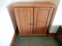 2 Door Antique Pine Cupboard - ideal for renovation / painting / restoration