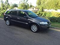 RENAULT MEGANE ESTATE 2006 AUTOMATIC DIESEL 1 YEARS MOT DRIVES PERFECT