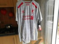 LIVERPOOL FC TOP BRAND NEW WITH TAGS ON LARGE SIZE