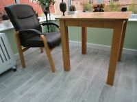 Solid Oak Dining Table , chairs also available