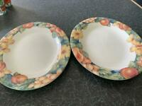 M&S oval serving dishes