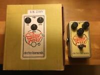 Electro Harmonix FX pedals