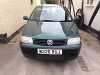 VOLKSWAGEN POLO 1.4 GREEN 5 DOOR