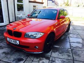 Bmw 120d se not m sport 1 2 3 4 5 series diesel 2.0 red upgraded show car modified