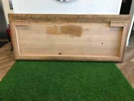 Beautiful large pine table top