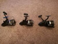 Original shimano long cast big baitrunners X3 carp fishing reel