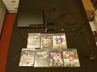 PS3 SLIM 320 GB + ACCESSORIES + POPULAR GAMES