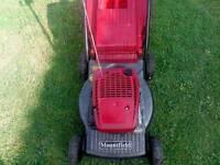 Mountfield hp454 petrol push lawnmower