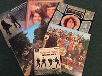 Beatles, Carpenters, S&G and 130+ more mixed LPs, EPs, Singles, hugely varied collection