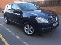 58 plate - Nissan Qashqai - Tekna - leather seats - panorami roof - service history