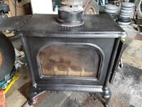 Log burner stove