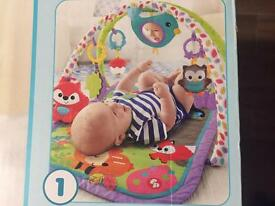 Baby activity mat, Fisher Price, £8
