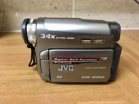 JVC GR-D775U camcorder (Mini DV) for sale - £30