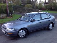TOYOTA COROLLA 1.3 KUDOS PETROL 5 DOORS HATCH BACK GREY