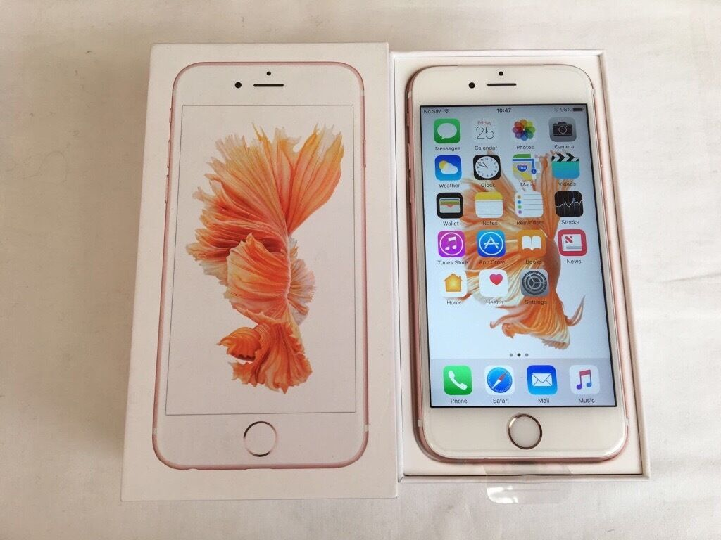 Apple iPhone 6S 16GB Rose Gold brand new condition in box factory unlocked sim free for salein Derby, DerbyshireGumtree - Apple iPhone 6S 16GB Rose Gold brand new condition in box factory unlocked sim free for sale This is a brand new condition apple iPhone 6S 16GB in Rose Gold colour Comes in box with all accessories This iPhone is factory unlocked If youre intereted...