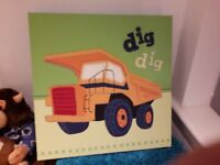 For sale digger bedroom accessories from next