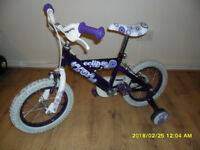 USED: ECLIPS HUFFY KID'S BICYCLE