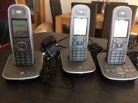 BT sonus trio cordless home telephone answering machine