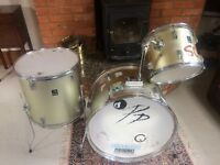 Drum kit with bags included