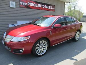 2009 Lincoln MKS AWD-HEATED LEATHER-GLASS ROOF!!!