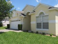 Florida Villa south facing with private pool & games room, close to Disney & Universal. Sleeps 8