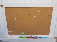 Kids Notice Board - Cork Back