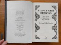 "Game of Thrones Book - A Dance with Dragons by George R R Martin (Book 5 of ""A Song of Ice & Fire"") for sale  Hampshire"