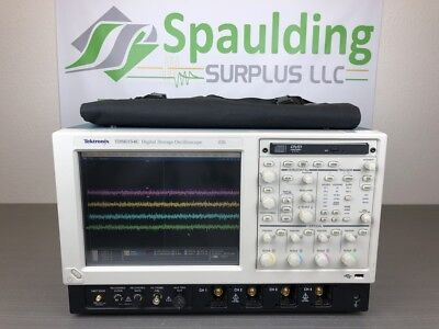 Tektronix Tds6154c 4ch 15ghz 40gss Digital Oscilloscope - Loaded Calibrated