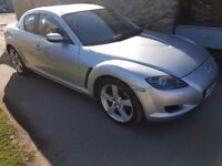 2006 MAZDA RX-8 / RX8 231 PS SILVER - HIGH SPEC - VERY LOW MILEAGE - LONG MOT