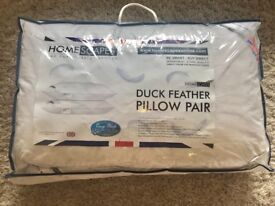 Brand new luxury feather pillows