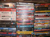 LARGE BOX OF 61 DVDs ALL BRAND NEW & SEALED INCLUDING 21 BOXSETS