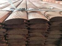 log lap loglap cladding shiplap T&G V grove timber treated 90x25 PREMIUM new