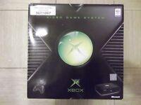 New and unused Xbox Original Video Game Console