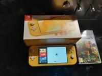 Nintendo switch lite mint Sold