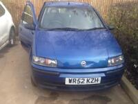 Fiat punto 1.2 61k on clock. Swap with 2006 or newer.