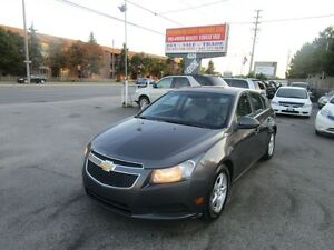 2011 Chevrolet Cruze LT Turbo+ w/1SB,SUNROOF